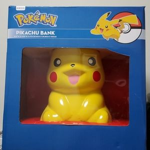 New in Box Pikachu Bank